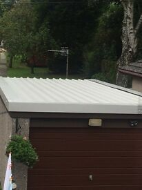 Garage roofs renewed or repaired. Also flat roof extensions and farm buildings. Removal of asbestos
