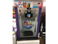 Practically new 16L soft serve whippy commercial ice cream machine