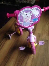 Used peppa pig bike