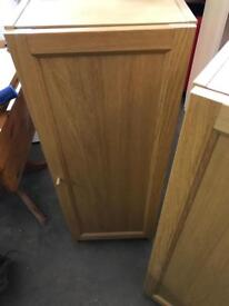 Small Ikea billy bookcase with door on