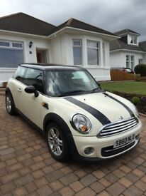 Mini Cooper 3-Door Hatch, 1.6 Petrol, Chili Pack, Reg 2010, 68700 Miles, Excellect Condition