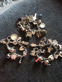 Charm braclet with charms