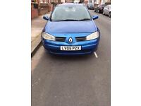 RENAULT MEGANE DYNAMIQUE 1.4 16V/ONLY 75K/LONG MOT/GREAT MOTOR/£800