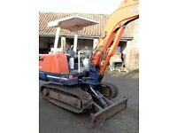 KUBOTA KH27 ACE GEAR TRACKED DIGGER