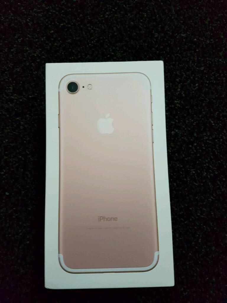 apple iphone 7 rose gold 128gb in preston lancashire gumtree. Black Bedroom Furniture Sets. Home Design Ideas