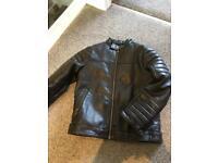 Next Leather Look boys Jacket - Age 5