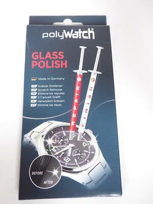 1 x Polywatch Watch Car Glass Scratch Repair Polish Poly Watch (Single)...