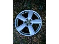 Audi rs6 wheel 5x100 5 x 100 alloy single a3 tt polo x1 spare