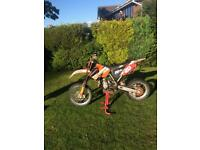 Ktm 85 small wheel breaking for spares most parts available