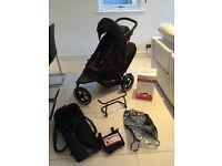 Phil & Teds Sport Double Buggy with Accessories