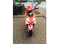 Longjia raptor 125. V quick scooter. Immaculate condition. 6000 miles only. 14 reg. £595 bargain