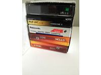 5 SEALED BRAND NEW mini DV tapes Cassettes - 2 X Superior grade TDK, 1 X Fuji, 2 X Panasonic