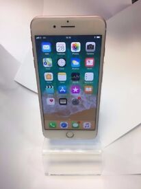 As New Boxed Apple iPhone 7 Plus 128GB Rose Gold Mobile Phone + 3 Month Warranty! DONT MISS OUT!