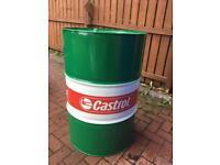 Castrol Oil Drum