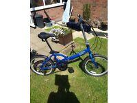 Appollo tuck foldaway bike
