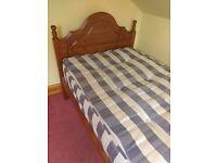 Single Pine bed (Duckers)