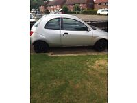 2002 Silver Ford Ka Low Mileage MOT Reliable £300 no offers