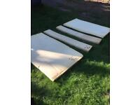 sunncamp holiday 400SE trailer tent foam (Boat/summerhouse/caravan/man cave etc)
