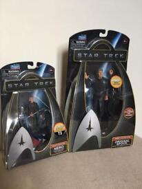 2 Brand new Star Trek figures Nero and Spock 🖖
