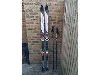 Rossignal Skis and poles