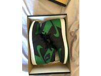 Jordan 1 pine green size 9.5 uk