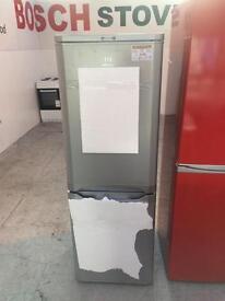 Silver INDESIT fridge freezer GRADED #3751