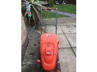 flymo lawnmower with grass box very good condition