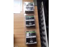Lexmark 100 black ink cartridges