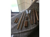 Bamboo Massage Sticks set 12 piece