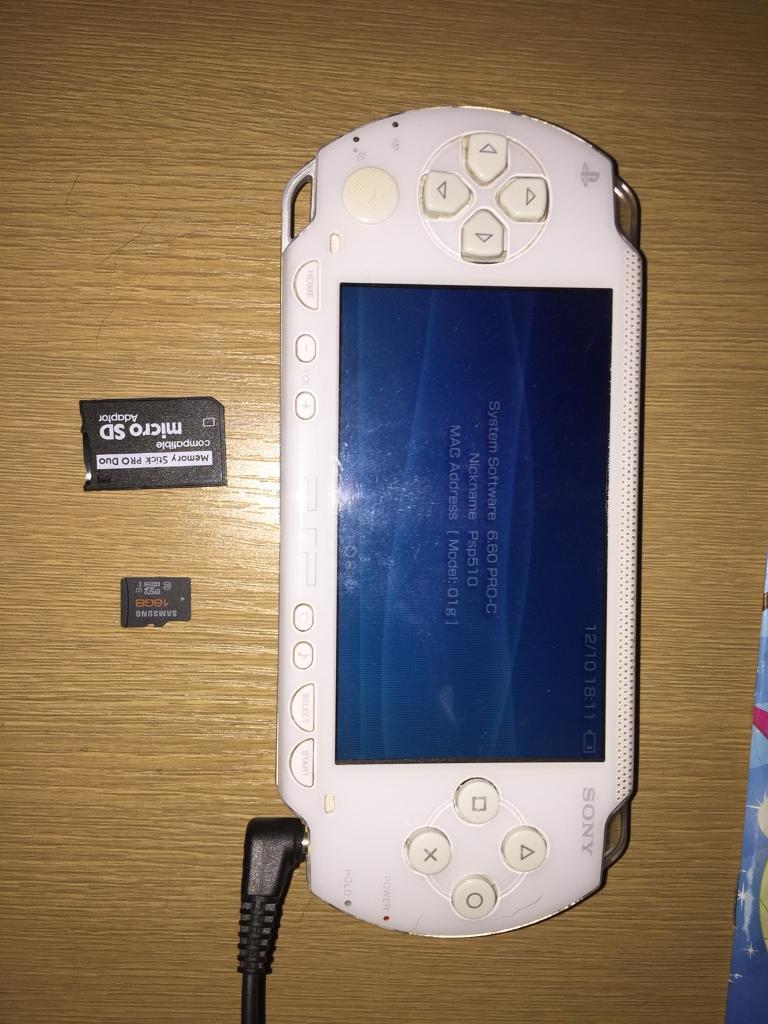 PSP white 64gb or swap for GameCube