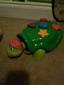 Popping Turtle Shapes Toy