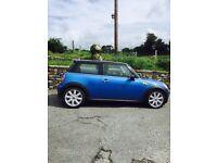 2010 Mini Cooper S Blue