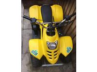 50cc quad bike runs fine but has issues