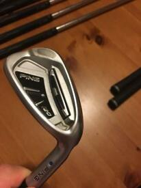 Ping i20 golf irons - £220