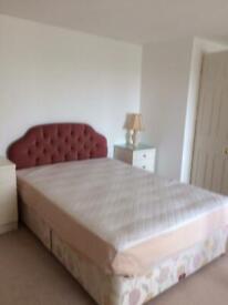 Sleepeezee double bed with mattress and headboard