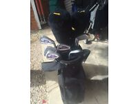 Set of Donnay Golf Clubs with bag and McGregar driver