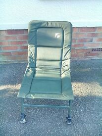Fold up fishing chair in green for £15