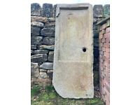 Old reclaimed stone sink
