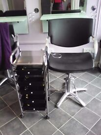 2 x Salon Chairs for sale