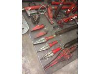 Garage equipment for sale job lot