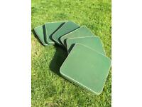 6x outdoor patio furniture seat cushions