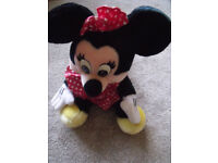 Minnie Mouse Disney character used/good condition - approx 12 inches tall