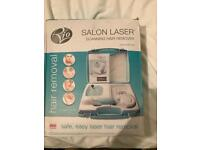 Salon laser hair removal