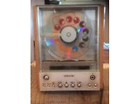 Vintage 90s Sony CD player. Glass front loading Stereo