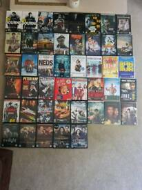 50p each Huge selection of Dvds for sale