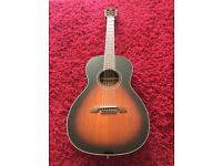 Alvarez AP66ESB Acoustic Parlour Guitar As New