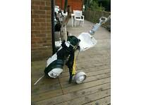 Macgregor golf bag and trolly