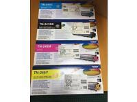 4 x Brother TN245C Toner High Capacity Cyan, Magenta, Yellow, Black