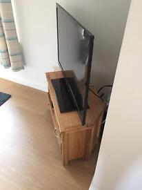 Corner Tv oak unit