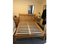 Solid Pine Double-Bed available for quick sale